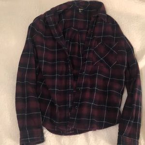 FOREVER 21 Flannel Button Up Shirt
